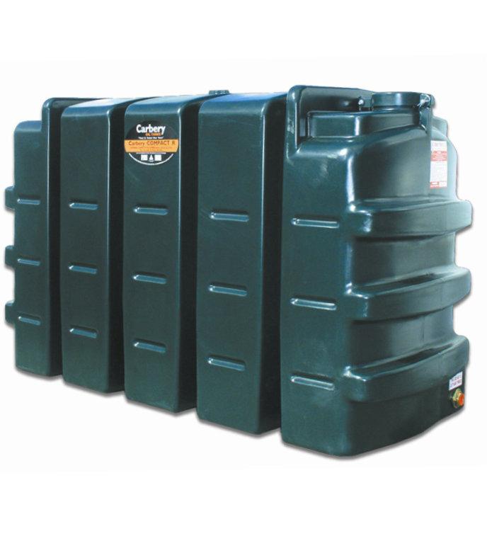 Carbery 900L Compact Single Skin Oil Tank