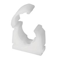 15mm Polypropylene Uniclip Hinged Snap-fit Single Clip