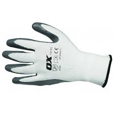 Ox Nitrile Flex Gloves - Size 9 (L)
