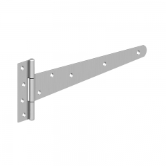 "GateMate 400mm (16"") Medium Tee Hinges - BZP"