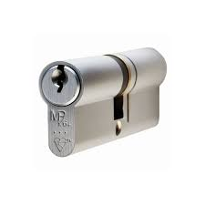 Eclipse 70mm Satin Chrome Double Euro Cylinder