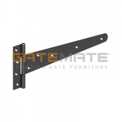 "GateMate 300mm (12"") Light Tee Hinges - Black"