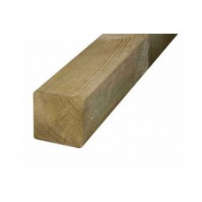 75 x 75 x 2400mm KD Brown Treated Fencing Post Post