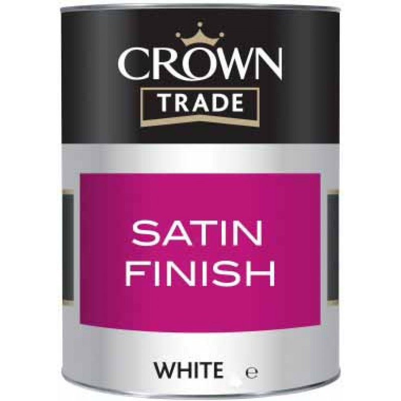 Crown Trade - Satin - White 1L