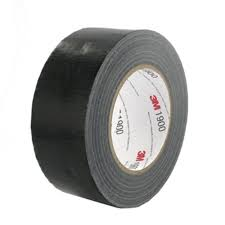 Super Tough Duct Tape: Black 50mm x 50m