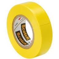 PVC Insulating Tape: Yellow