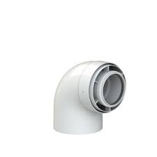 Navien 90 Degree Flue Elbow (Short)