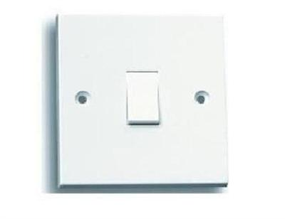 *CLEARANCE* Selectric Square 10A 2-Way Light Switch Plate - 1 Gang