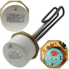 "Advantay 14"" x 1 3/4""(1.75"") Incoloy Immersion Heater (3kW, 240V) w/ RTS Thermostat"