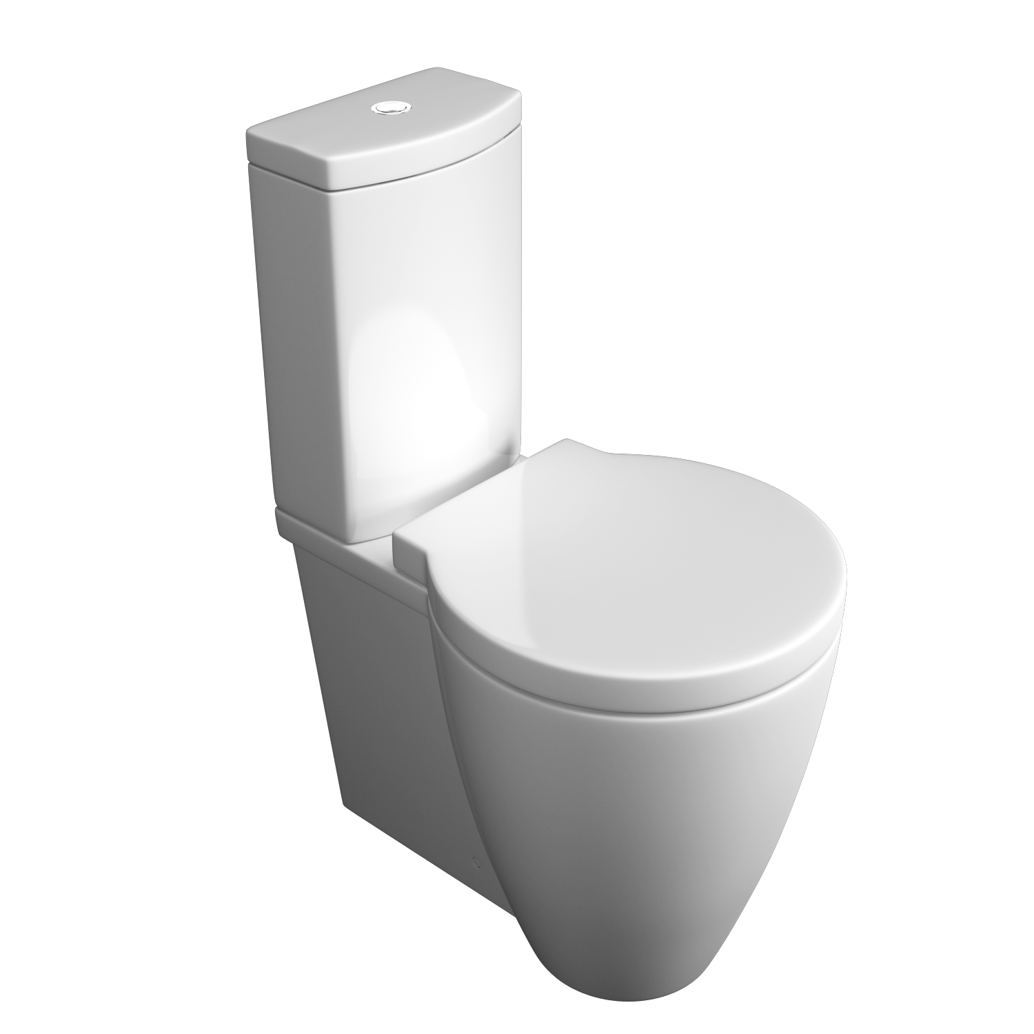 K-Vit Milano Close Coupled WC Pan & Cistern (Seat Not Included)