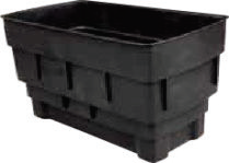 50 Gallon Rectangular Cold Water Storage Tank, Lid, Jacket & Fittings Pack  - 1150x635x600mm