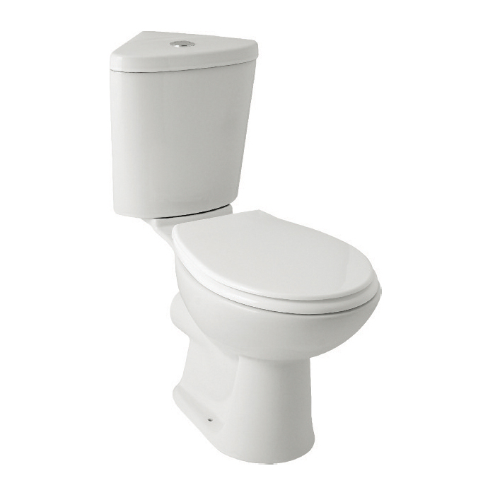 K-Vit G4K Corner C/C WC Pan & Cistern