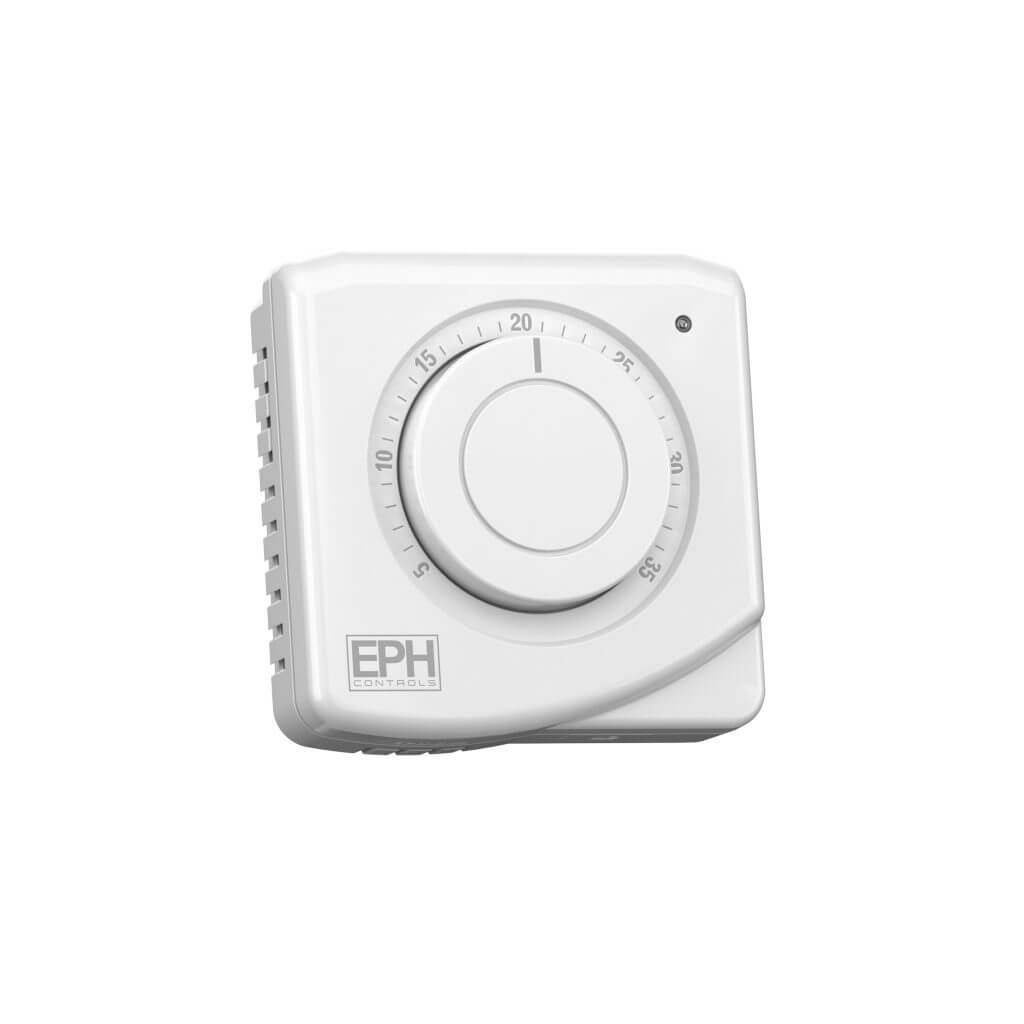 EPH Mechanical Room Thermostat, 24Vac, 3 wire (c/w light)