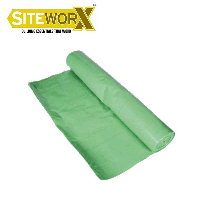 Siteworx 2.5 x 50m Vapour Check (125mu) Green Membrane Roll