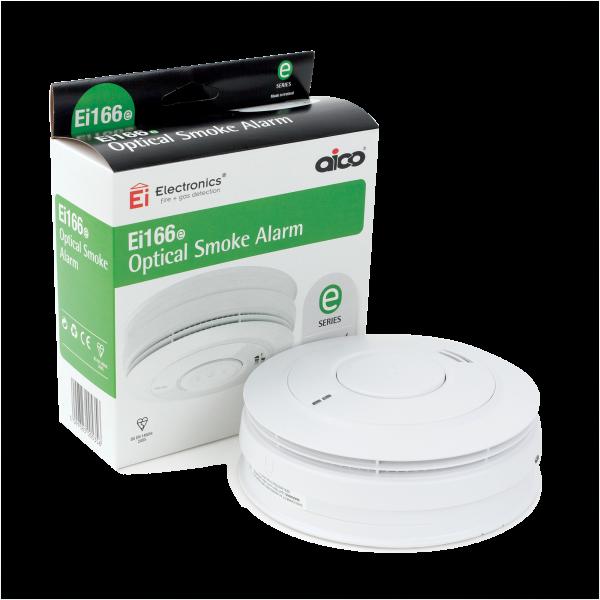 AICO EI166e 240v Optical Detector Smoke Alarm (c/w Lithium Battery)