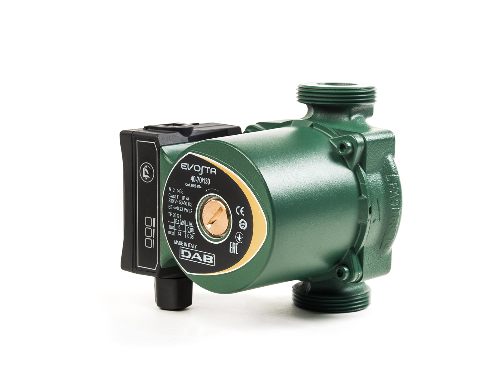 DAB Evosta 3 8 meter head 130mm Central Heating Circulating Pump