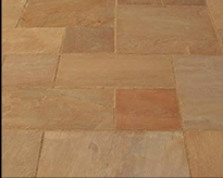 Sandstone Thins (15-25mm) - Autumn Brown - Patio Pack