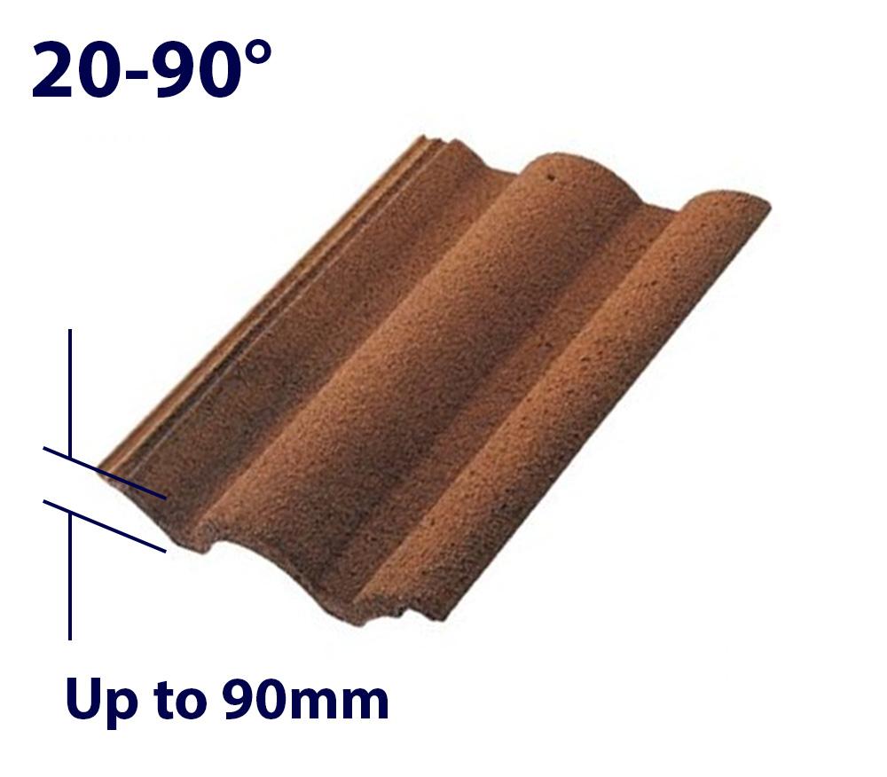 Velux EDJ CK04 550 x 980mm Recessed - Single tile flashing