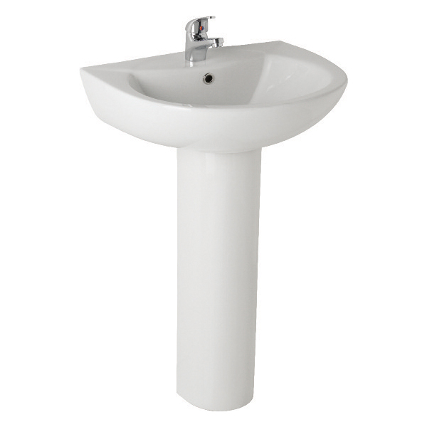 K-Vit G4K 545mm Basin 1TH & Pedestal