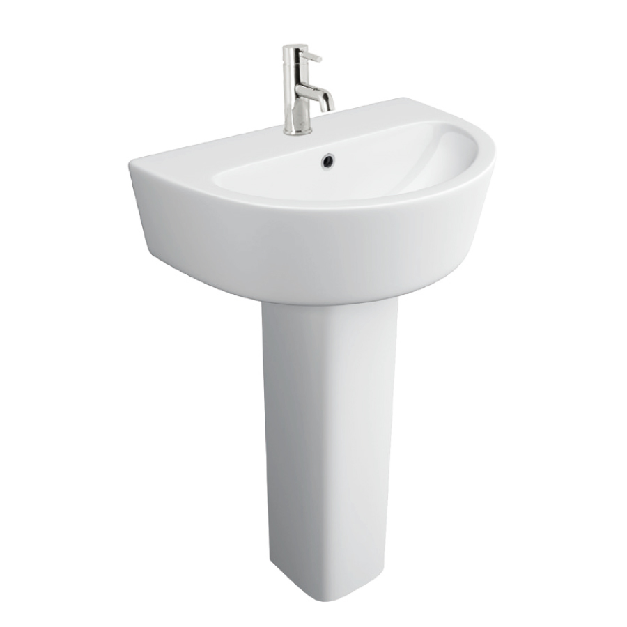 K-Vit Genoa 550mm 1TH Basin & Basin