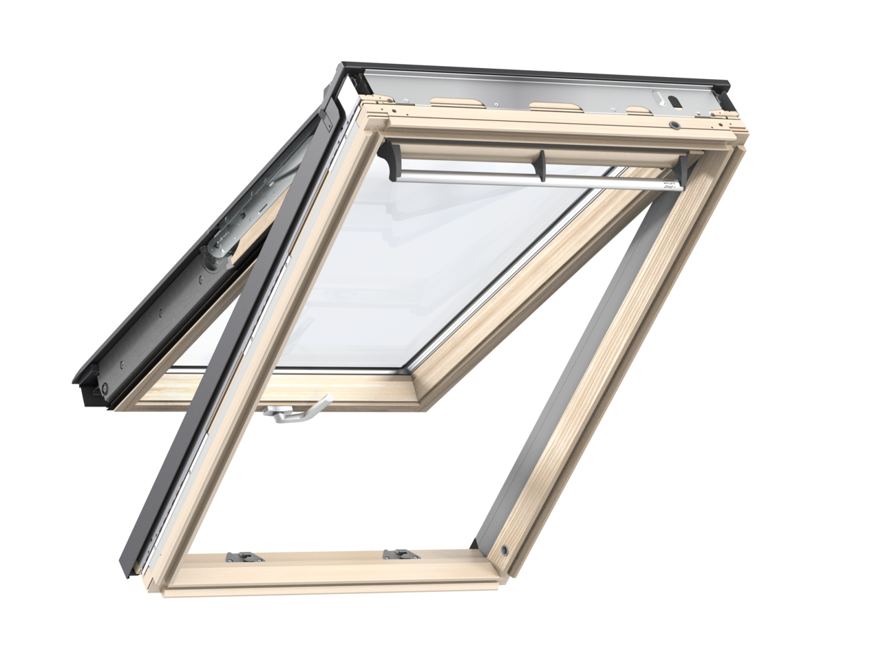 Velux GPL CK06 550 x 1180mm Top Hung Standard 70Pane Roof Window - Pine