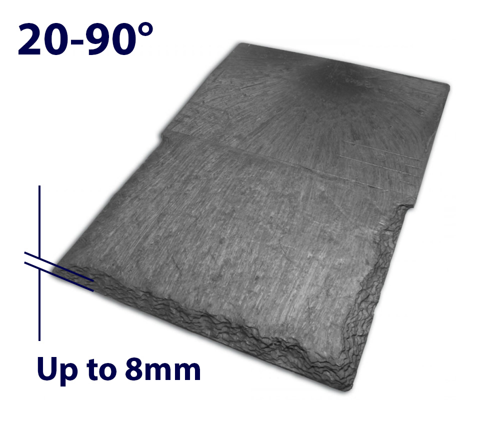 Velux EDN FK06 660 x 1180mm Recessed - Single slate flashing
